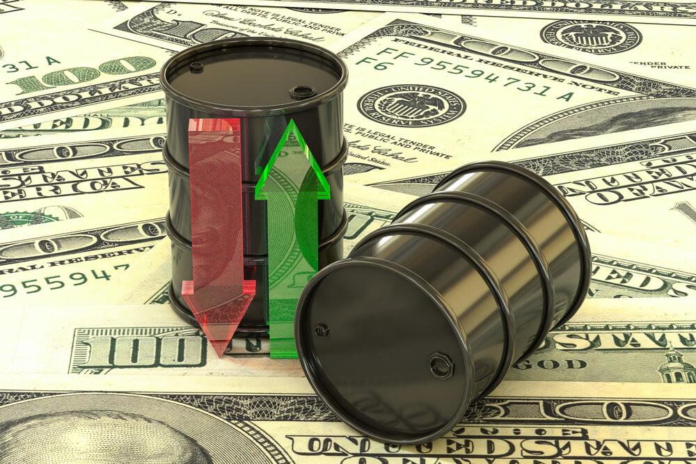 原油高の高騰に伴いビットコインも上昇